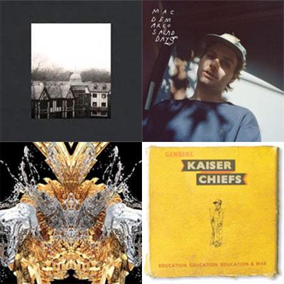 CLOUD NOTHINGS, MAC DEMARCO, BANDS OF SKULL, KAISER CHIEFS... : LES ALBUMS DE LA SEMAINE EN STREAMING