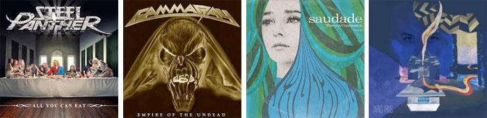 STEEL PANTHER, GAMMA RAY, THIEVERY CORPORATION, ARC IRIS... : LES ALBUMS DE LA SEMAINE EN STREAMING