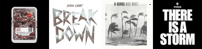 NAPALM DEATH, DEREK GRANT, H-BURNS, PARIS... : LES ALBUMS DE LA SEMAINE EN STREAMING