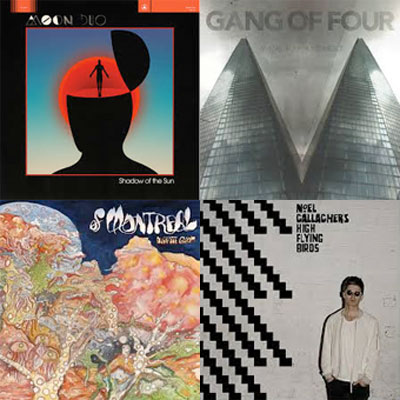 MOON DUO, GANG OF FOUR, OF MONTREAL, NOEL GALLAGHER'S HIGH FLYING BIRDS... : LES ALBUMS DE LA SEMAINE EN STREAMING
