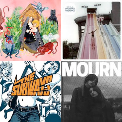 FATHER JOHN MISTY, DUCK DUCK GREY DUCK, THE SUBWAYS, MOURN... : LES ALBUMS DE LA SEMAINE EN STREAMING