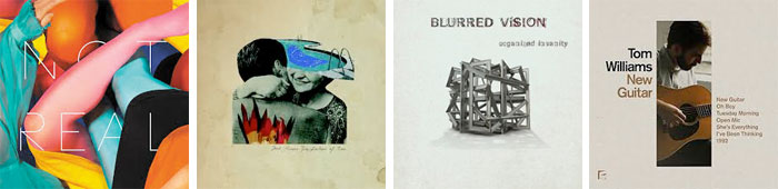 STEALING SHEEP, JOSH ROUSE, BLURRED VISION, TOM WILLIAMS... : LES ALBUMS DE LA SEMAINE EN STREAMING