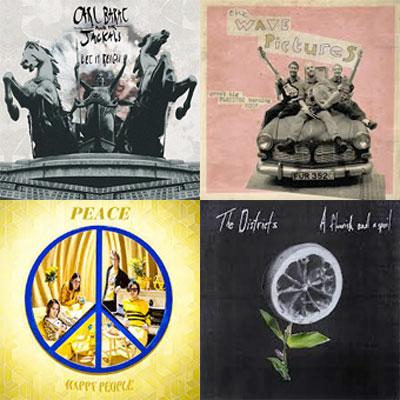 CARL BARÂT AND THE JACKALS, THE WAVE PICTURES, PEACE, THE DISTRICTS... : LES ALBUMS DE LA SEMAINE EN STREAMING