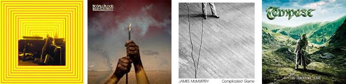 HAPPY MEALS,  NO SPILL BLOOD, JAMES MCMURTY, TEMPEST... : LES ALBUMS DE LA SEMAINE EN STREAMING