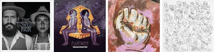 THE LOWEST PAIR, THEESATISFACTION, KRILL, ROMARE... : LES ALBUMS DE LA SEMAINE EN STREAMING