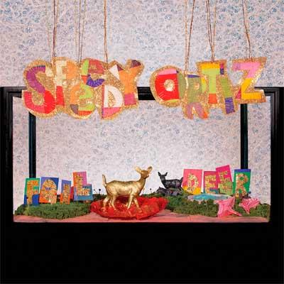 SPEEDY ORTIZ POCHETTE NOUVEL ALBUM FOIL DEER