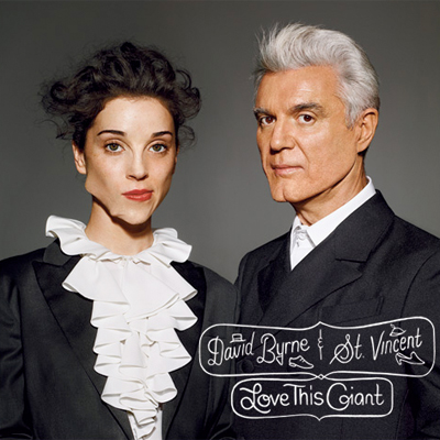 DAVID BYRNE & ST. VINCENT POCHETTE ALBUM LOVE THIS GIANT