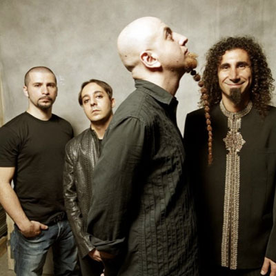 SYSTEM OF A DOWN GROUPE