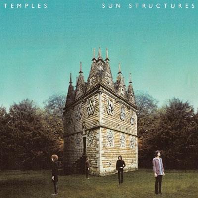 TEMPLES : POCHETTE PREMIER ALBUM SUN STRUCTURES