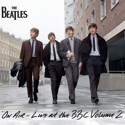 THE BEATLES POCHETTE ALBUM LIVE AT THE BBC, VOLUME 2
