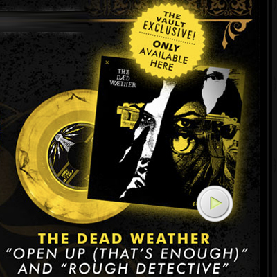 THE DEAD WEATHER POCHETTE 45 TOURS