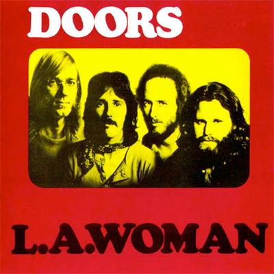 THE DOORS POCHETTE L.A. WOMAN