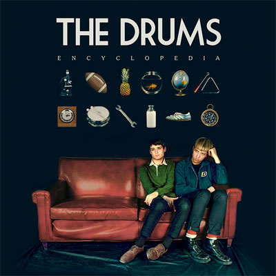 THE DRUMS : POCHETTE NOUVEL ALBUM ENCYCLOPEDIA