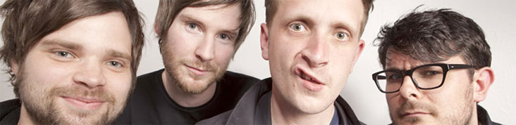THE FUTUREHEADS : NOUVEL ALBUM RANT EN AVRIL, ROBOT EN ECOUTE