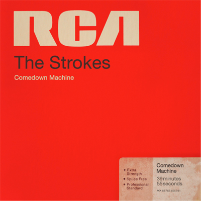 THE STROKES POCHETTE NOUVEL ALBUM COMEDOWN
