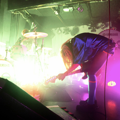 THE TING TINGS LIVE FLECHE D'OR 2011