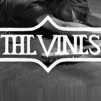 THE VINES LOGO LIVE
