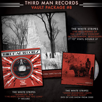 THE WHITE STRIPES THE VAUL PACKAGE #8