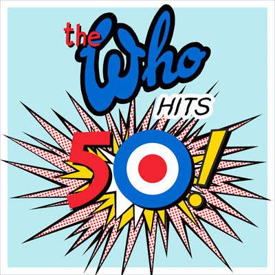 THE WHO POCHETTE COMPILATION HITS 50