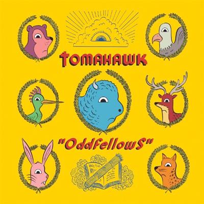 TOMAHAWK POCHETTE NOUVEL ALBUM ODDFELLOWS