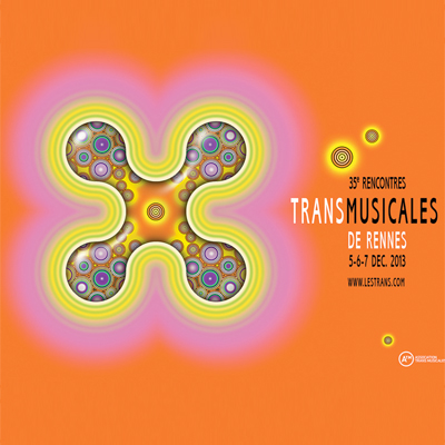 TRANSMUSICALES DE RENNES AFFICHE 2013
