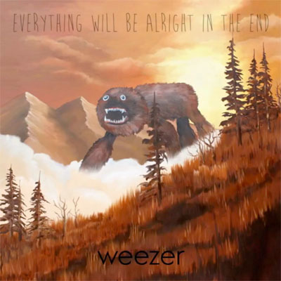 WEEZER POCHETTE NOUVEL ALBUM EVERYTHING WILL BE ALRIGHT IN THE END