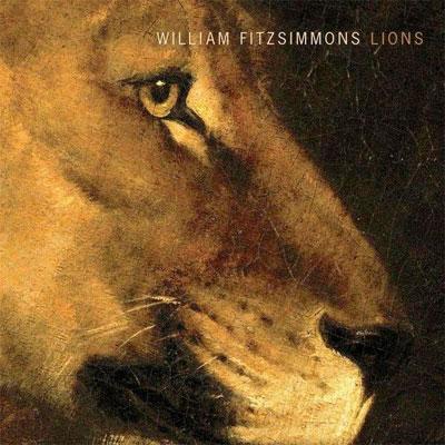 WILLIAM FITZSIMMONS POCHETTE NOUVEL ALBUM LIONS
