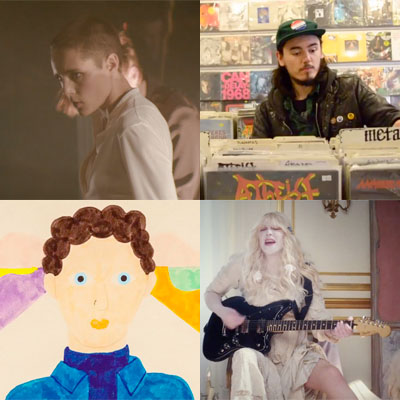 ZAPPING DE LA SEMAINE : SAVAGES, PAWS, METRONOMY, COURTNEY LOVE...