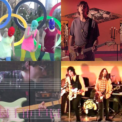 ZAPPING DE LA SEMAINE : PUSSY RIOT, THURSTON MOORE, REAL ESTATE, PINK MOUNTAINTOPS...