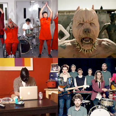 ZAPPING DE LA SEMAINE : THE KNIFE, DIE ANTWOORD, ED SCHRADER'S MUSIC BEAT, THE TROUBLE WITH TEMPLETON...