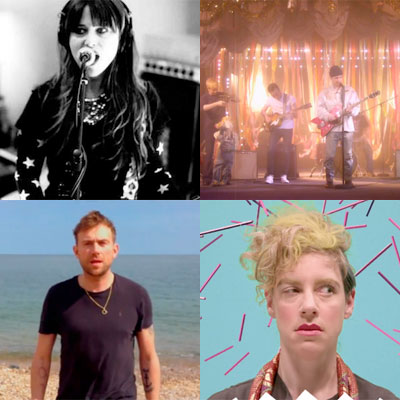 ZAPPING DE LA SEMAINE : VERUCA SALT, BLACK LIPS, DAMON ALBARN, TUNE-YARDS...