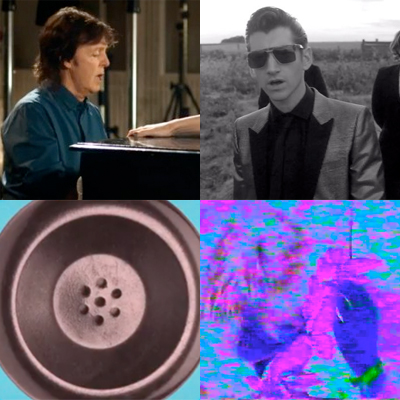ZAPPING DE LA SEMAINE : PAUL MCCARTNEY, ARCTIC MONKEYS, THROWING MUSES, BEACH FOSSILS...