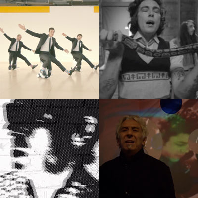 ZAPPING DE LA SEMAINE : OK GO, THE GROWLERS, BUZZCOCKS, JOHN CALE...