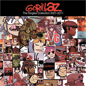 gorillaz_singlescollection