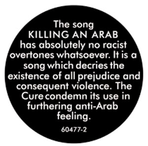 the_cure_killing_an_arab