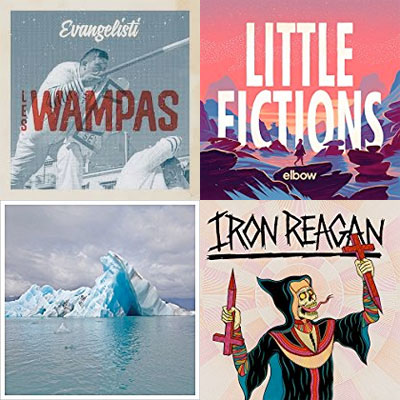 les_wampas_elbow_surfer_blood_iron_reagan_album_pochette