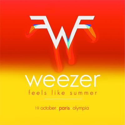 weezer_flyer_concert_olympia