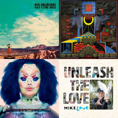 noel_gallagher_king_gizzard_the_lizard_wizard_bjork_mike_love_album_pochette
