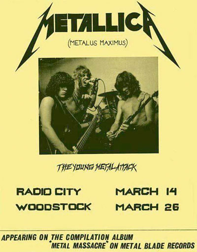 metallica_radio_city_flyer_1982