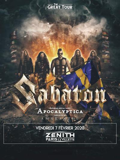 sabaton_concert_zenith_paris