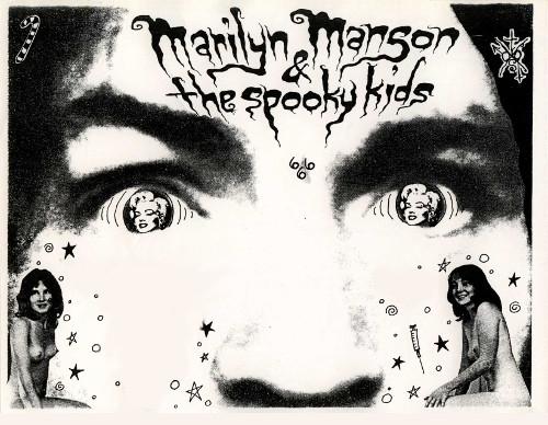 Spooky Kids Flyer 18 July 1992