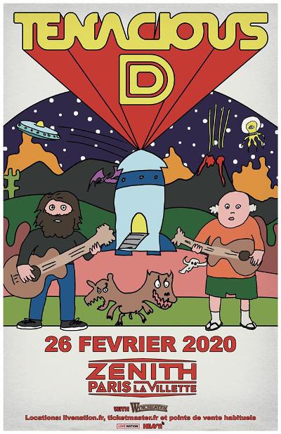 tenacious_d_concert_zenith_paris