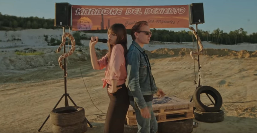 alex_kapranos_clara_luciano_summer_wine_video