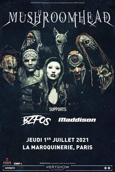 mushroomhead_concert_maroquinerie