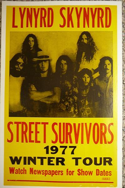 lynyrd_skynyrd_street_survivors_tour_1977