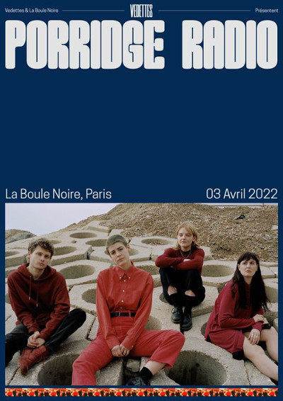 porridge_radio_concert_boule_noire